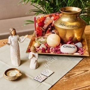 gebedenpot vierkant